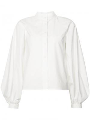 Блузка с длинными рукавами Derek Lam. Цвет: белый