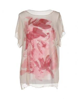 Блузка BARONI. Цвет: розовый