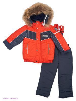 Комплекты одежды для малышей Cleverly. Цвет: красный, синий