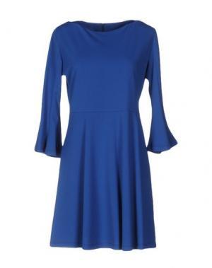 Короткое платье KATE. Цвет: ярко-синий