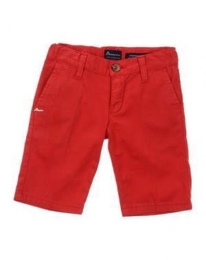 Повседневные брюки BARNUM. Цвет: красный
