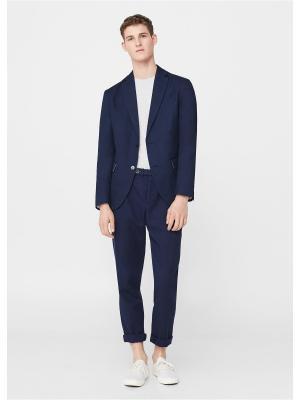Пиджак - VELA8 MANGO MAN. Цвет: темно-синий