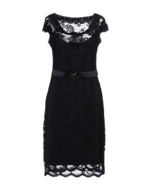 Короткое платье OLVI'S. Цвет: темно-синий