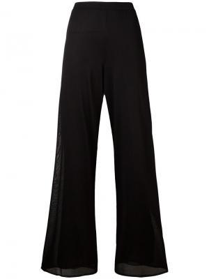 Расклешенные брюки Missoni. Цвет: чёрный