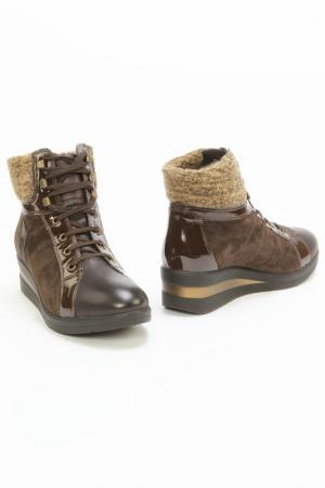 Ботинки Monis. Цвет: коричневый