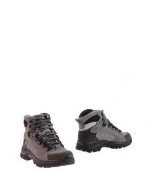 Полусапоги и высокие ботинки GRISPORT. Цвет: серый