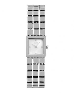Наручные часы ALFEX. Цвет: серебристый