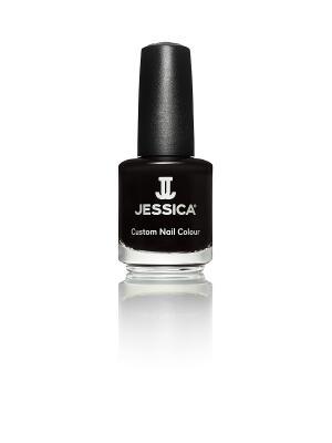 Лак для ногтей матовый  # 759 Black Matte, 14,8 мл JESSICA. Цвет: черный