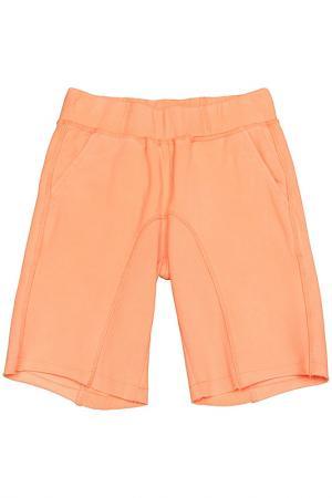 Шорты ASTON MARTIN. Цвет: оранжевый