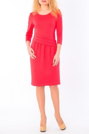 Платье S&A style. Цвет: коралловый