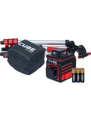 Построитель лазерных плоскостей ADA Cube 2-360 Professional Edition instruments. Цвет: черный, красный