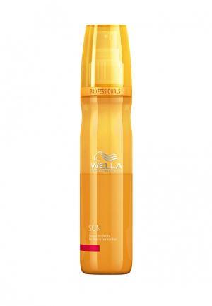 Спрей солнцезащитный Wella. Цвет: оранжевый