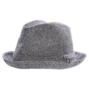 Шляпа  Bebida Fedora Black Globe. Цвет: серый