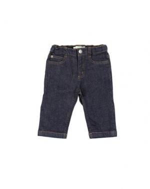 Джинсовые брюки BONPOINT. Цвет: синий