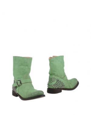 Полусапоги и высокие ботинки TWIN-SET Simona Barbieri. Цвет: зеленый
