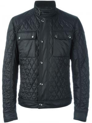 Стеганая куртка Belstaff. Цвет: чёрный