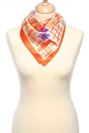 Платок F.FRANTELLI. Цвет: оранжевый