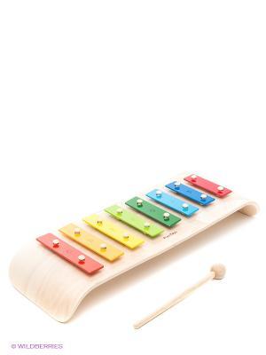 Ксилофон PLAN TOYS. Цвет: бежевый