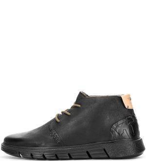 Ботинки NOBRAND. Цвет: черный