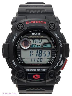 Часы G-SHOCK G-7900-1E CASIO. Цвет: черный