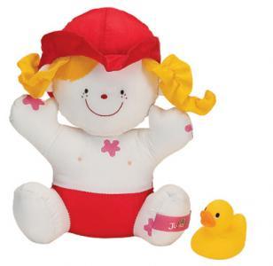 Кукла «Julia» K'S Kids. Цвет: белый, красный, оранжевый