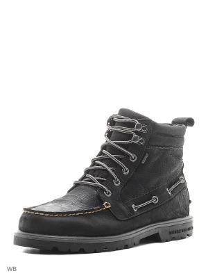 Ботинки Sperry Top-Sider. Цвет: черный