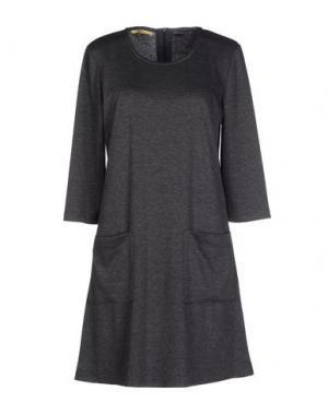 Короткое платье MAGALI PASCAL. Цвет: свинцово-серый
