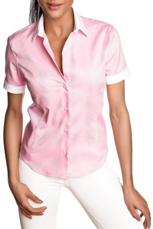 Рубашка GAZOIL. Цвет: розовый
