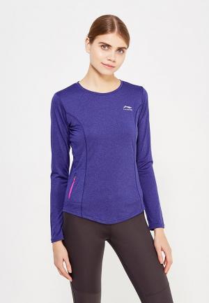 Лонгслив спортивный Li-Ning. Цвет: фиолетовый