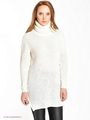Туника Vero moda. Цвет: молочный