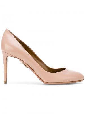 Туфли-лодочки Simply Irresistible Aquazzura. Цвет: розовый и фиолетовый