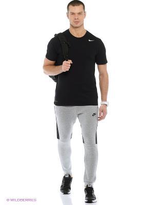 Футболка DRI-FIT SS VERSION 2.0 TEE Nike. Цвет: серый, черный