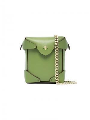 Сумка Pristine Manu Atelier. Цвет: зелёный