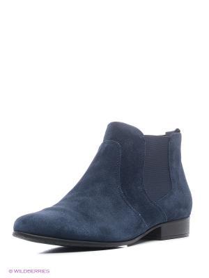 Ботинки Tamaris. Цвет: синий