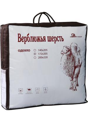 Одеяло ВЕРБЛЮЖЬЯ ШЕРСТЬ ИвШвейСтандарт. Цвет: бежевый, коричневый
