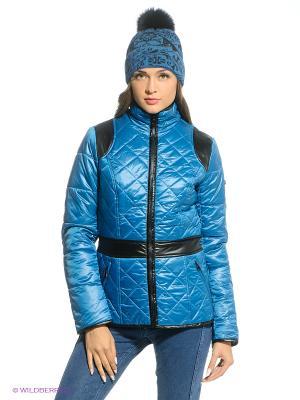 Куртка CONVER. Цвет: синий, черный