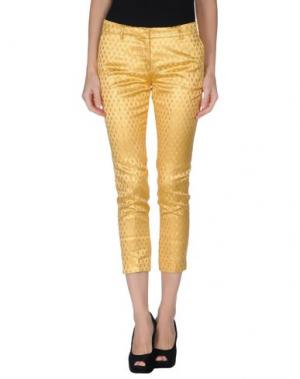 Повседневные брюки TRĒS CHIC S.A.R.T.O.R.I.A.L. Цвет: охра