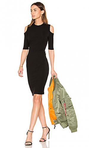 Платье korie sen. Цвет: черный