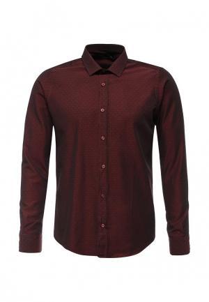 Рубашка Hopenlife. Цвет: бордовый