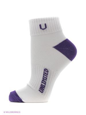 Носки, 5 пар Unlimited. Цвет: белый, индиго