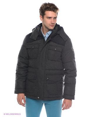 Куртка ESPRIT. Цвет: темно-серый