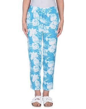 Повседневные брюки 100X200 CENTOXDUECENTO. Цвет: бирюзовый