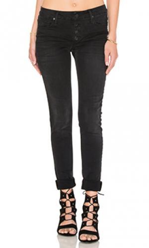 Узкие джинсы candice Black Orchid. Цвет: none