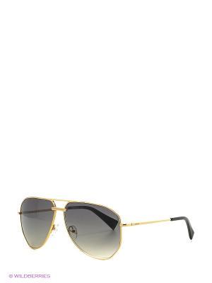 Солнцезащитные очки BLD 1620 101 Baldinini. Цвет: золотистый