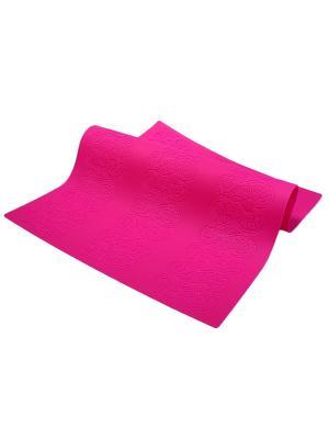 Силиконовый коврик для выпечки Migura. Цвет: фуксия