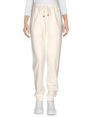 Повседневные брюки MR & MRS Italy. Цвет: слоновая кость