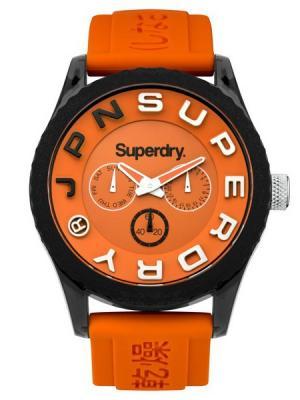 Часы Superdry. Цвет: оранжевый