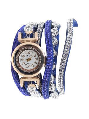 Браслет-часы Olere. Цвет: золотистый, серебристый, синий