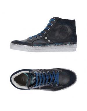 Высокие кеды и кроссовки D'ACQUASPARTA. Цвет: темно-синий