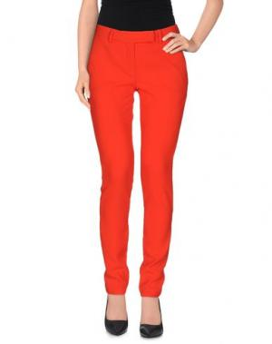 Повседневные брюки HOPE COLLECTION. Цвет: красный